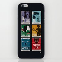 bond iPhone & iPod Skins featuring Bond #4 by Alain Bossuyt