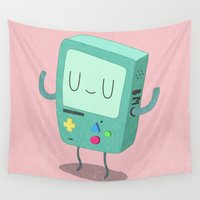 bmo Wall Tapestries featuring BMO by Rod Perich
