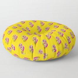 Letter S - 31 Days of Type Floor Pillow