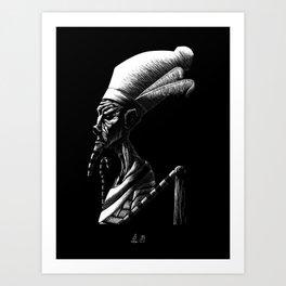 Egyptian Deities: Osiris Art Print