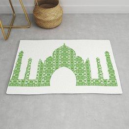 Taj Mahal Art Rug