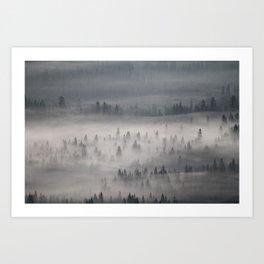 mountain morning  Art Print