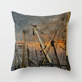 Industrial Hodge Podge Throw Pillow