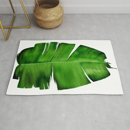 Banana Leaf Painting Rug