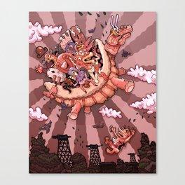 Elevators Canvas Print