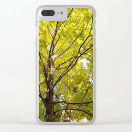 A Yellow Canopy Clear iPhone Case