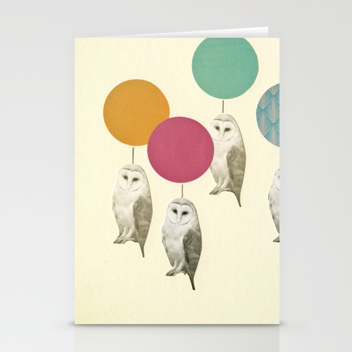 Balloon Landing Stationery Cards