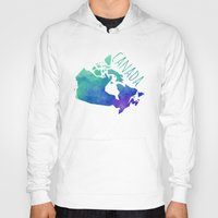 canada Hoodies featuring Canada by Stephanie Wittenburg