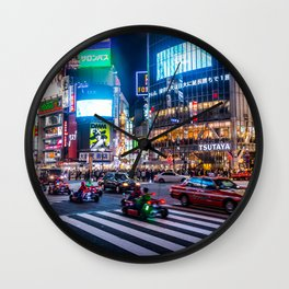 Here we go!!real mario cart at Shibuyacrossing Wall Clock