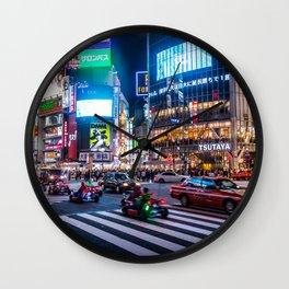 Here we go!!real mario cart at Shibuyacrossing Wall Clock