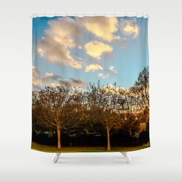 Getty Trees Shower Curtain