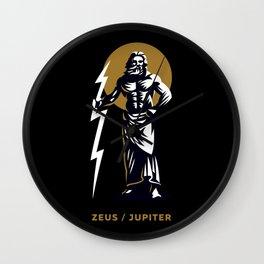 Zeus / Jupiter Wall Clock
