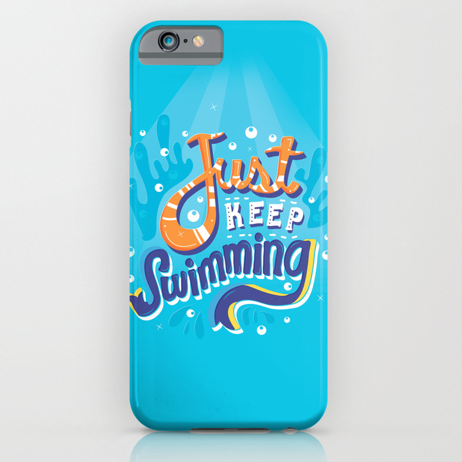more photos e5d74 8ab98 Just Keep Swimming iPhone Case