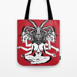 Woman is a Devil Tote Bag
