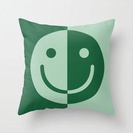 Happy Sage Throw Pillow