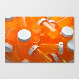 Pill Bottles Canvas Print