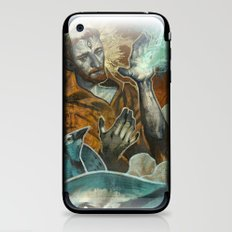 Saint Francis Revisited iPhone & iPod Skin