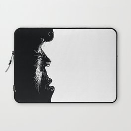 Lines of Lion Laptop Sleeve