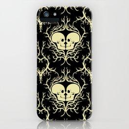 'Till Death Do Us Part (black) iPhone Case