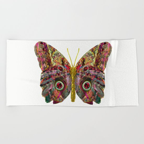 Float Like A Butterfly Beach Towel