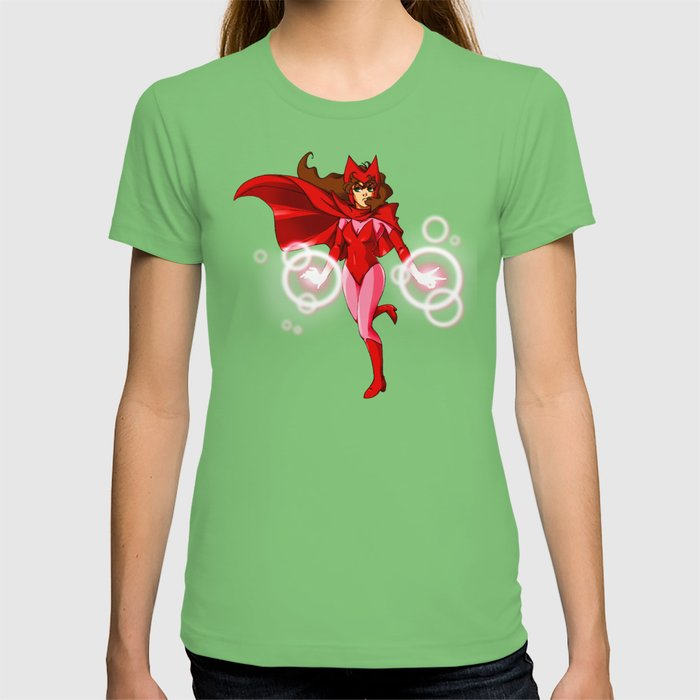 Scarlet Witch T Shirt By Dialpforplacey Society6