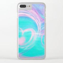 Rhythm of Love Clear iPhone Case