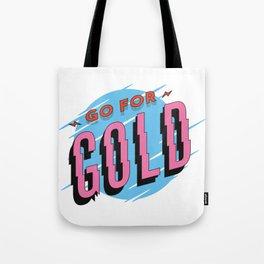strive for Gold Tote Bag