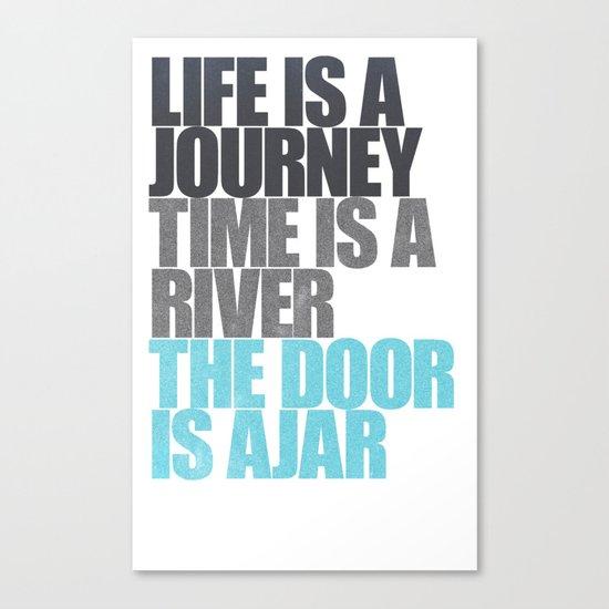 The Door is Ajar Canvas Print