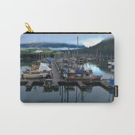 Foggy Petersburg Harbor Carry-All Pouch