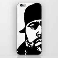 punisher iPhone & iPod Skins featuring Punisher by Rack the Crown