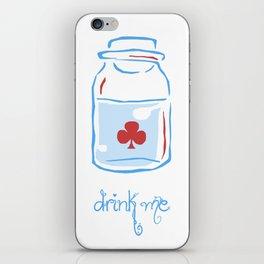 drink me iPhone Skin