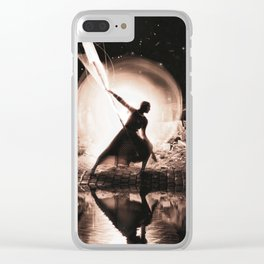 Protector of light Clear iPhone Case