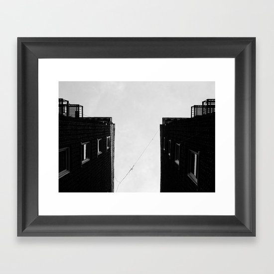 Homefromabove Framed Art Print