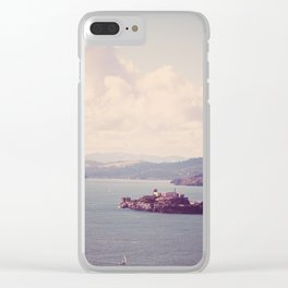 The Rock - San Francisco, California Clear iPhone Case