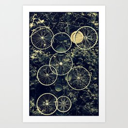 Tire - less Art Print