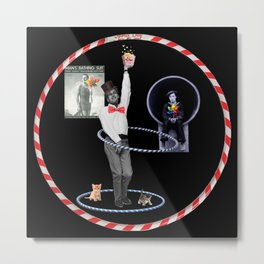 Paul Newman Hula Hoops (with kittens)  Metal Print