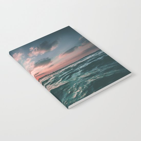 Ocean Sunset Notebook