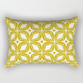 Starburst - Gold Rectangular Pillow