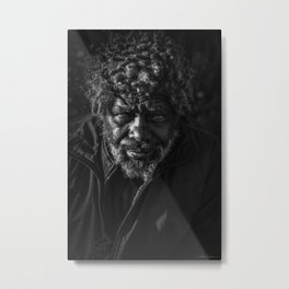 Homeless Hope Metal Print