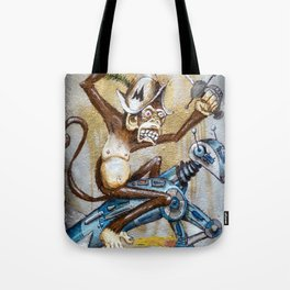 Paul's Monkey Tote Bag