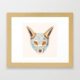 Andrew, the Fox Wrestler Framed Art Print