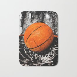 The basketball Bath Mat