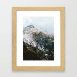 Furka Pass Framed Art Print