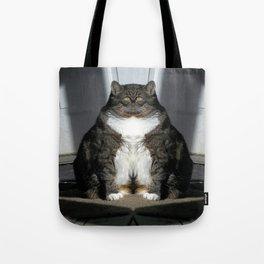 Sad Fat Cat Tote Bag