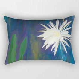 night-blooming cereus Rectangular Pillow
