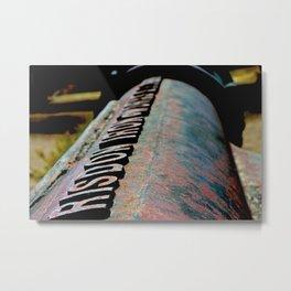 Pipeline Metal Print