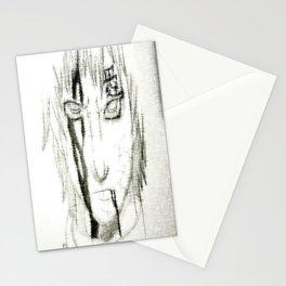 Bloody Sheared Gaara Stationery Cards