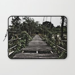 Bridge in Sumatra (HDR photo) Laptop Sleeve