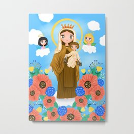 Our Lady of Mount Carmel Metal Print