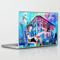 women Laptop & iPad Skins featuring Women by Joe Ganech